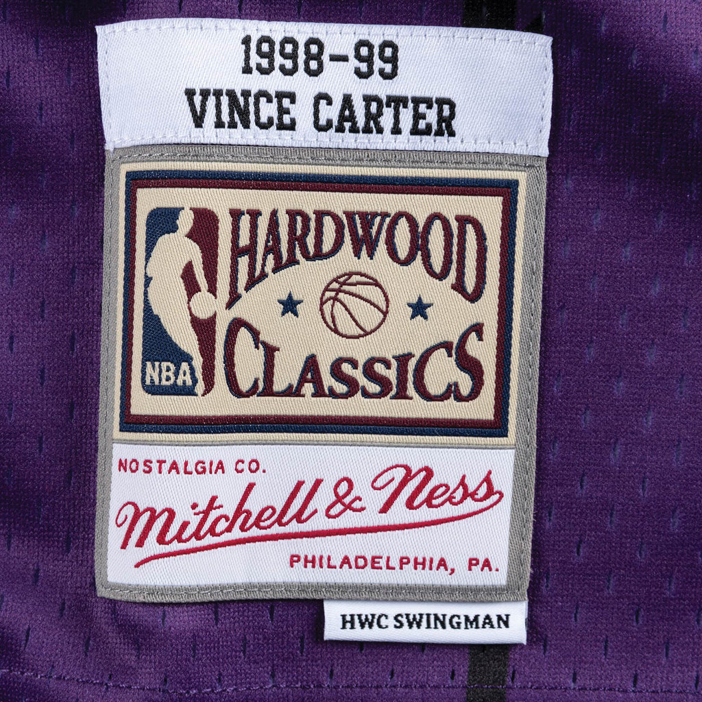 Purple onto Raptors Vince Carter 1998-1999 Top