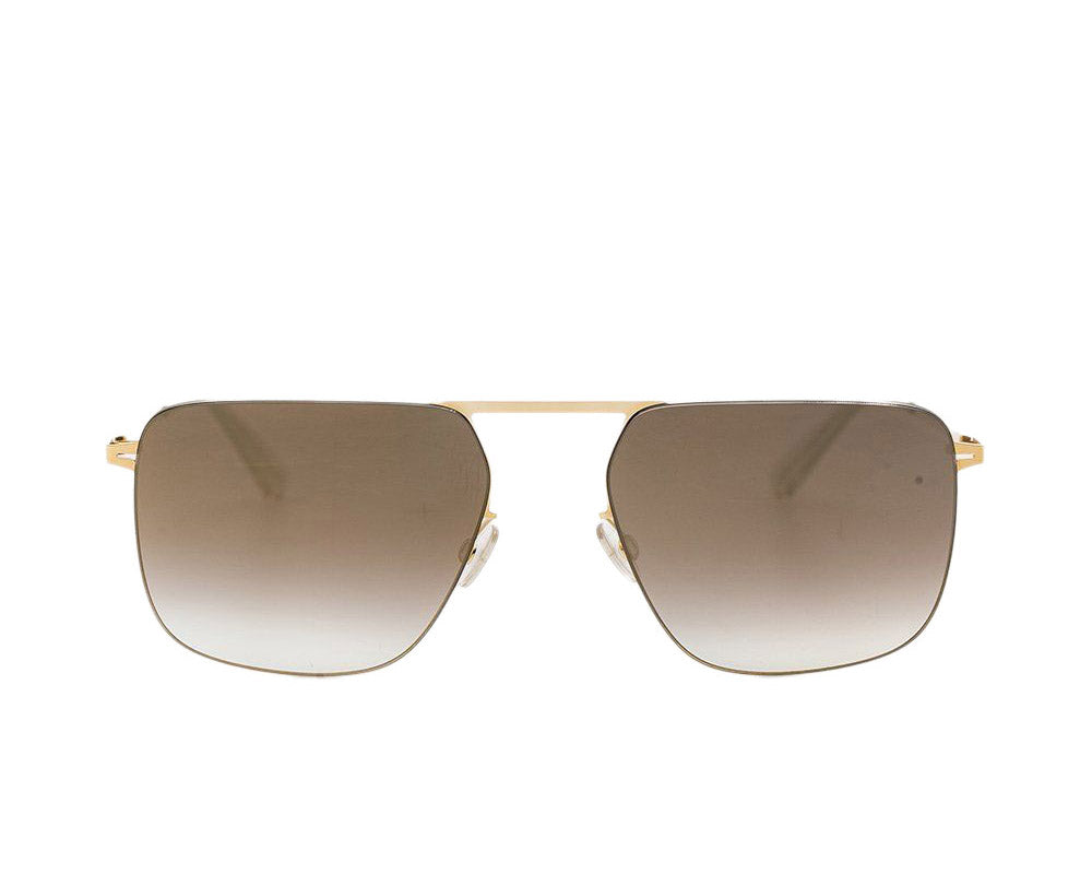 Grey & Gold Masao Sunglasses