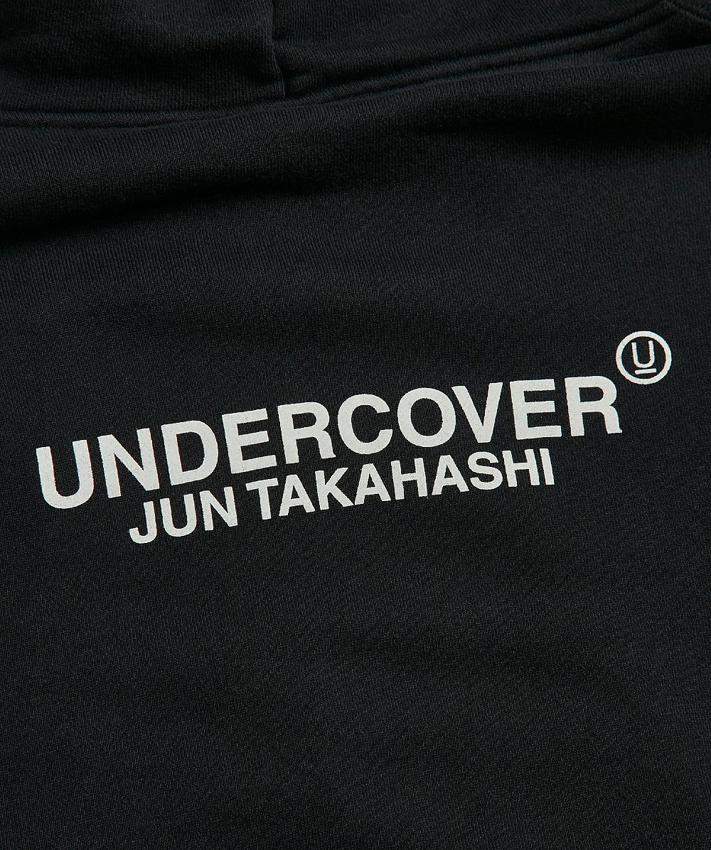 Black Japanese Logo Hoody