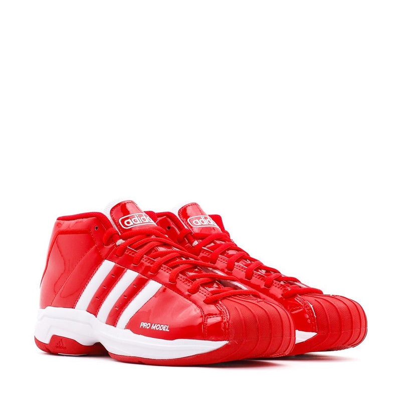 Red & White Basketball Pro Model 2G Sneakers
