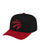 Black & Red NBA Toronto Raptors Wool 2 Tone Flex Snapback Cap thumbnail 1