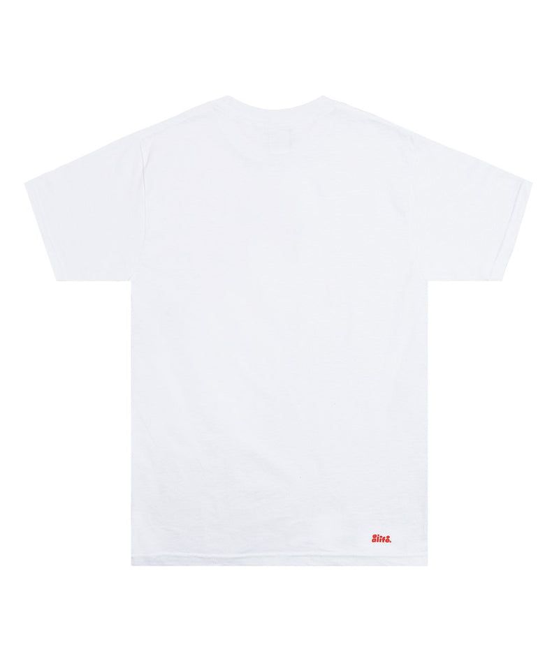 White Squeeze Tee