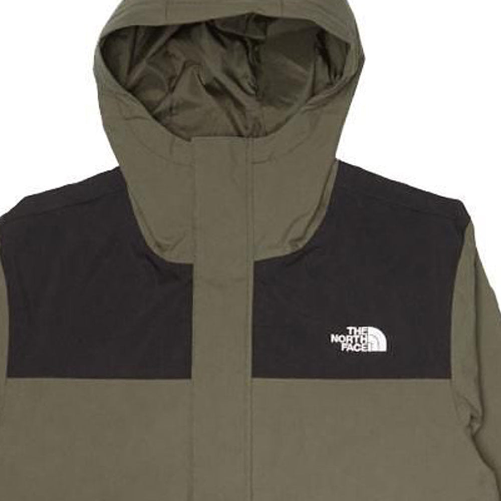 Green or Black City Breeze Rain Parka