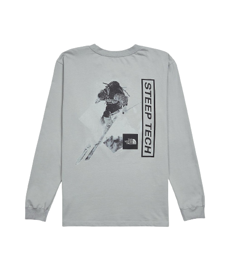 Grey Steep Tech Light Long Sleeve T-Shirt