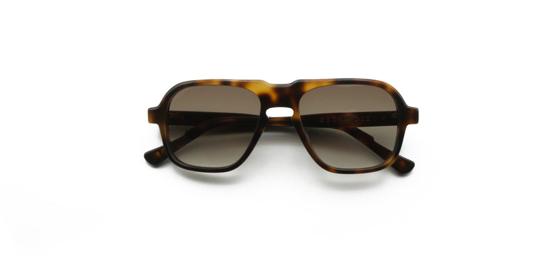 Brown & Black Fraser Tortoise Sunglasses