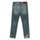 Blue Distressed Straight Leg Jeans thumbnail 2
