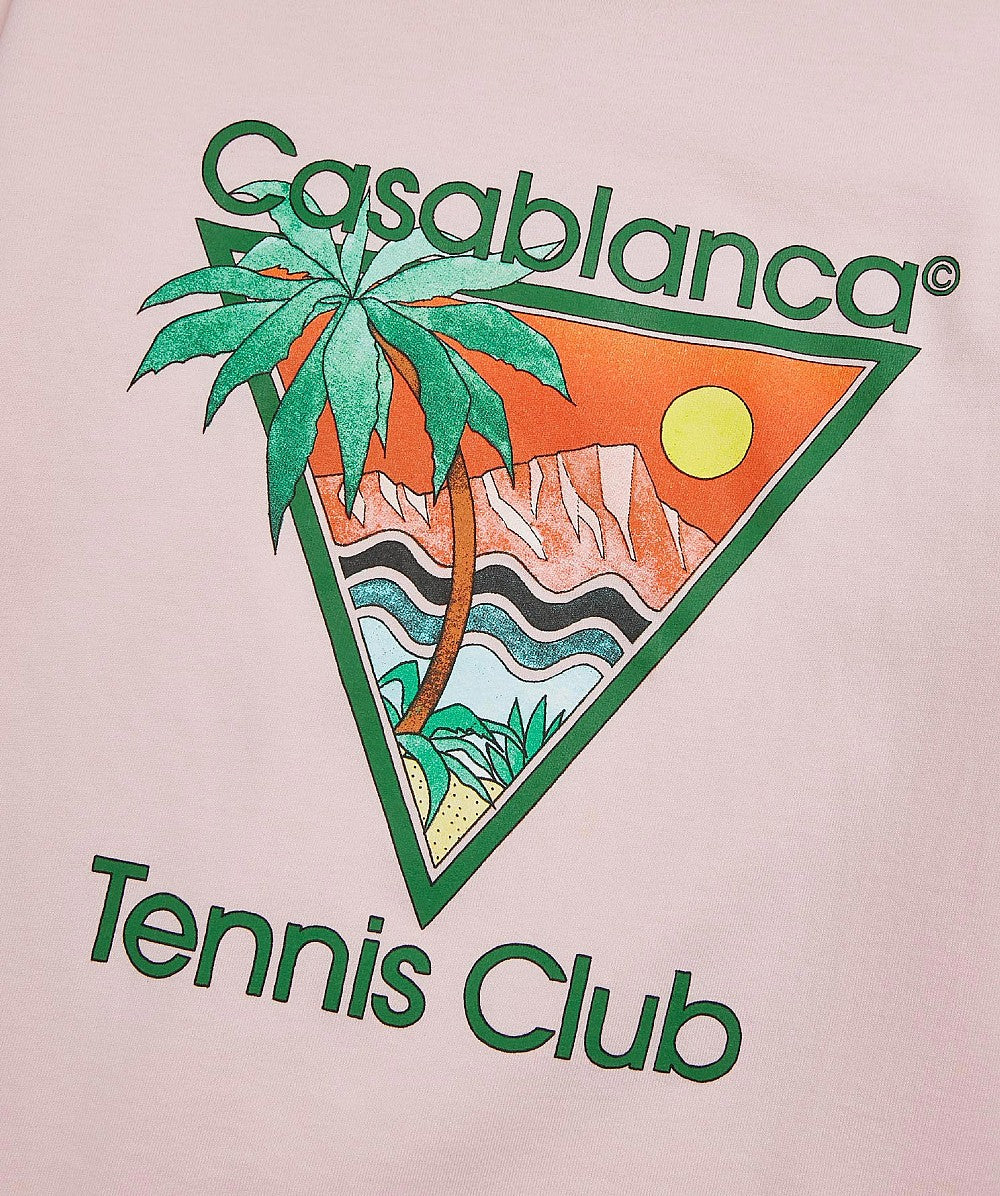 Pink Tennis Club Icon T Shirt