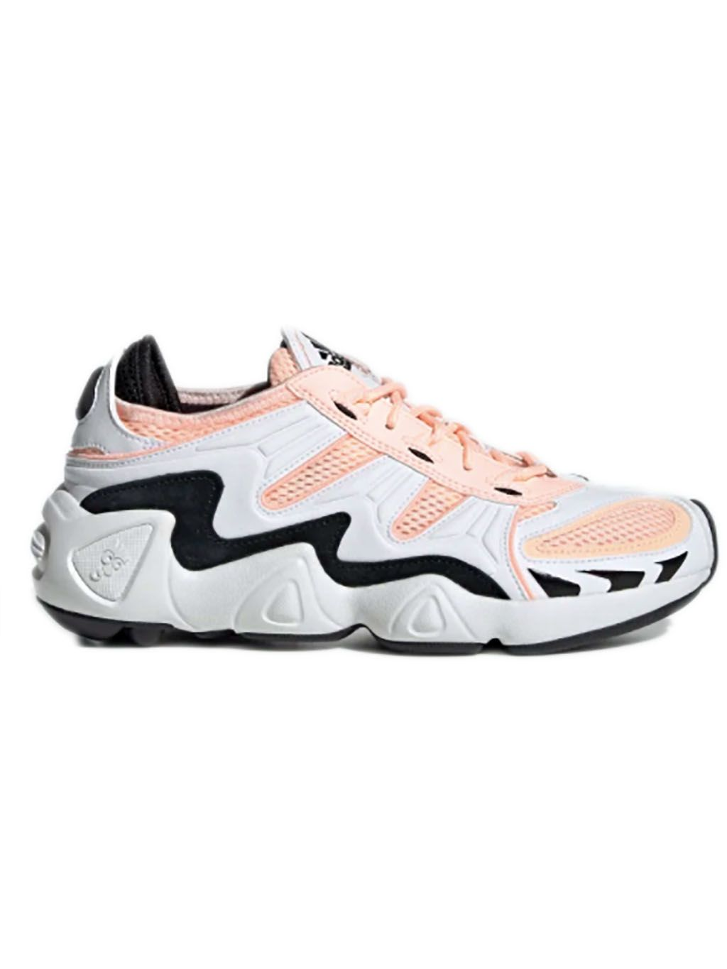 White & Orange FYW S 97 Sneakers