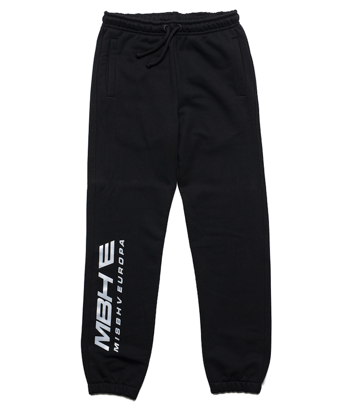 Black Europa Sweatpants