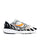 White & Black Grid Azura 2000 Sneakers thumbnail 1