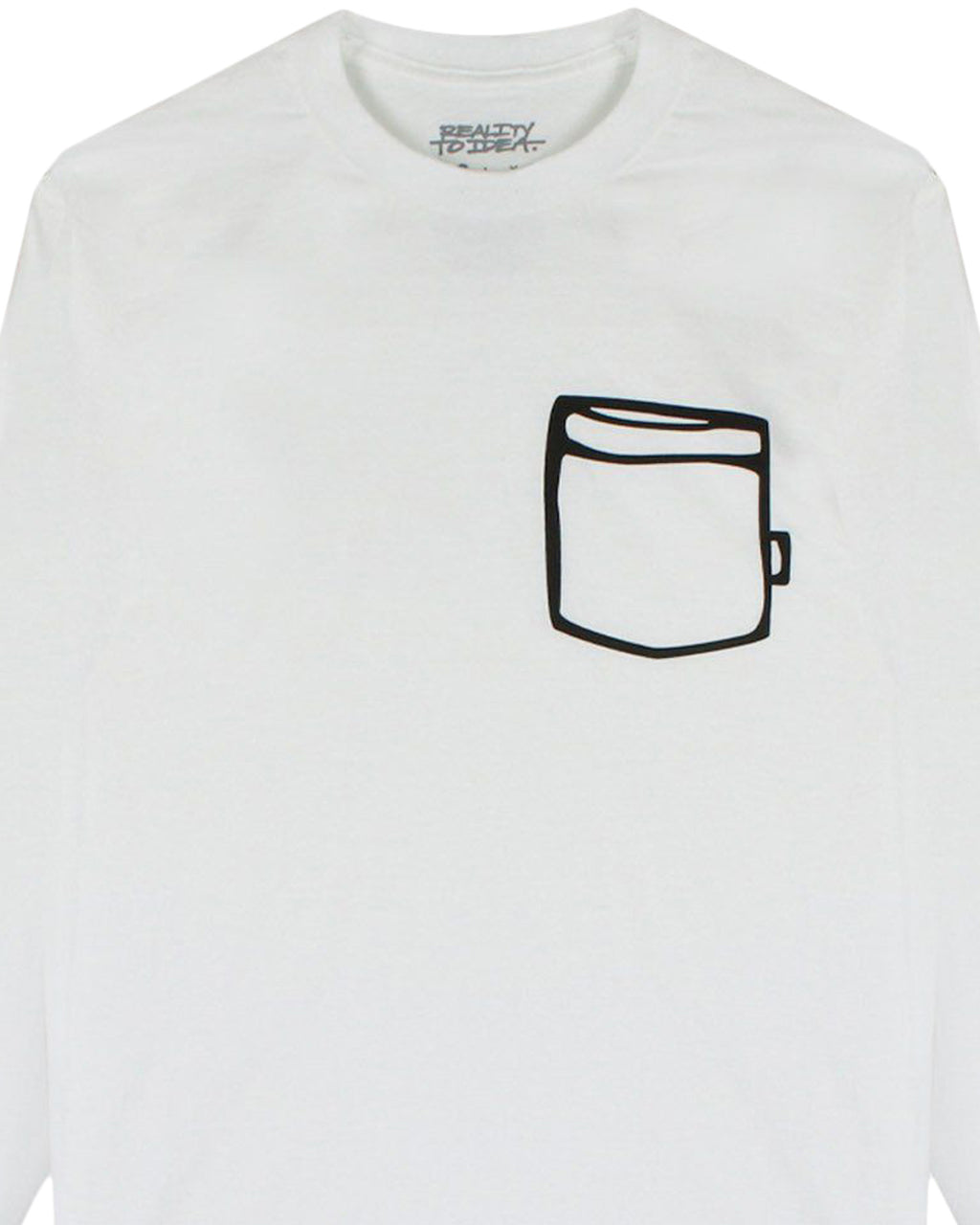 White Cup Long Sleeve T-Shirt