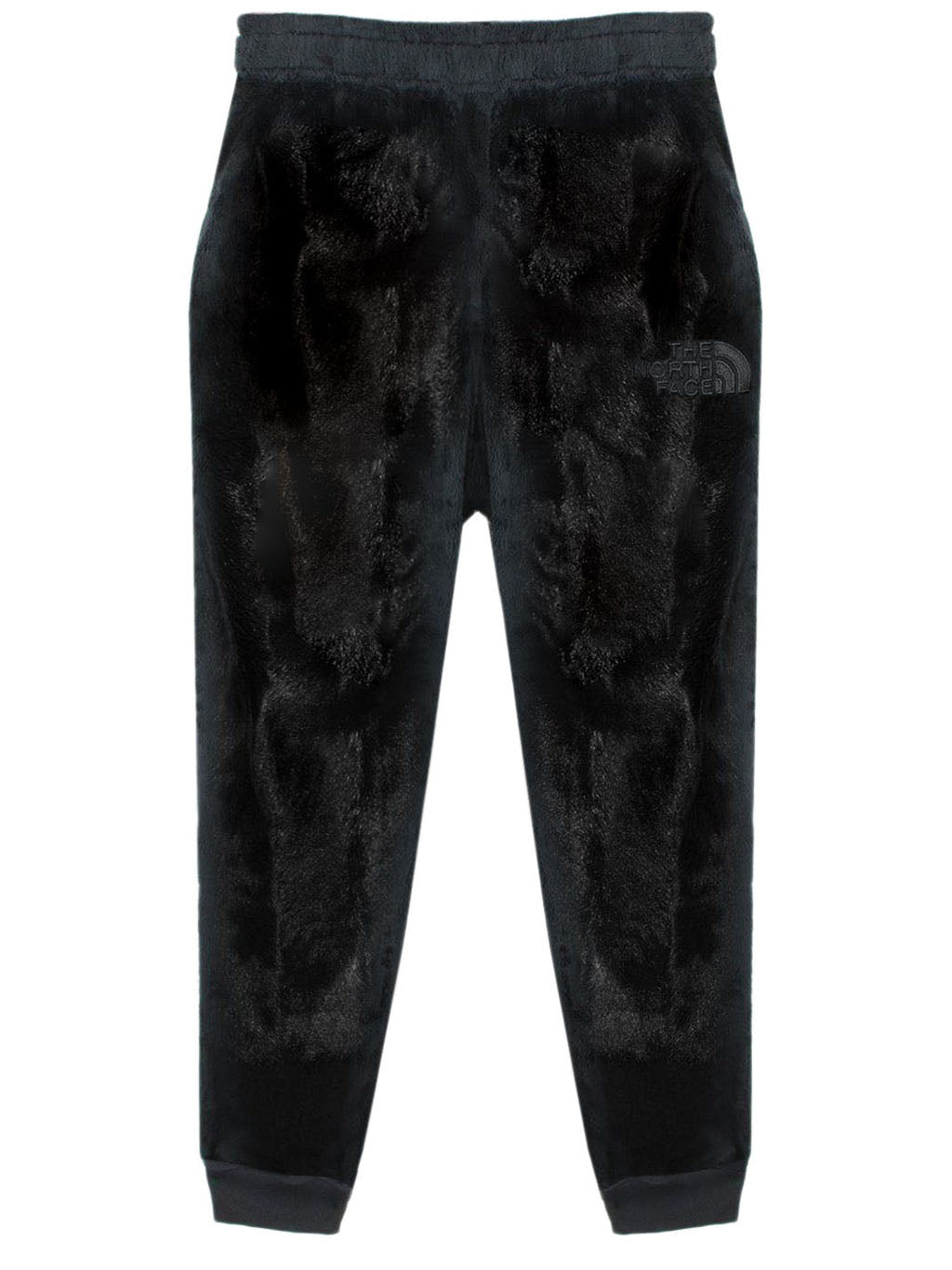Black KK Fleece Knit Pants