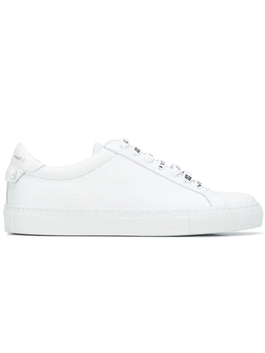 White Urban Street Low Top Sneakers