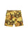 Yellow Tropical Floral Print Sunset Shorts thumbnail 1