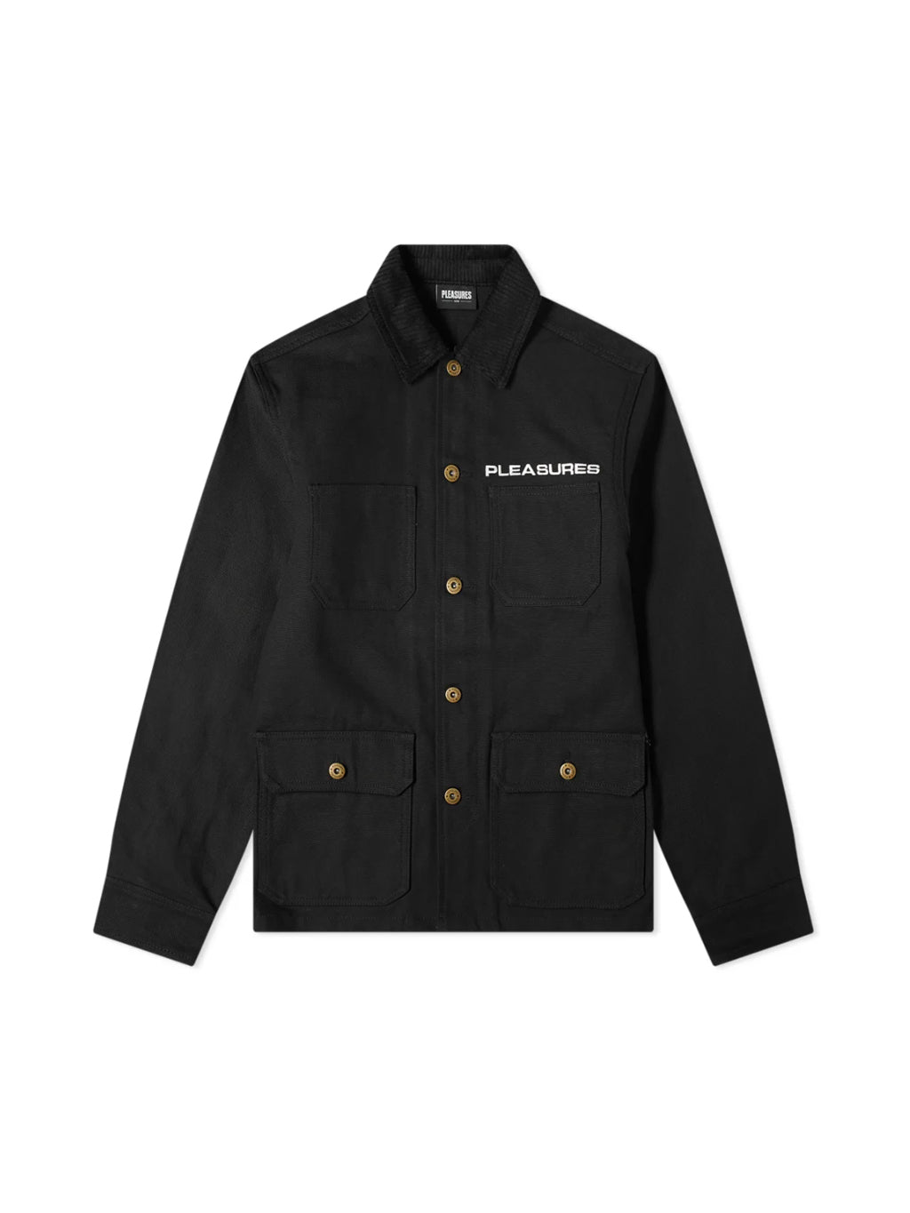 Black Spike Chore Jacket