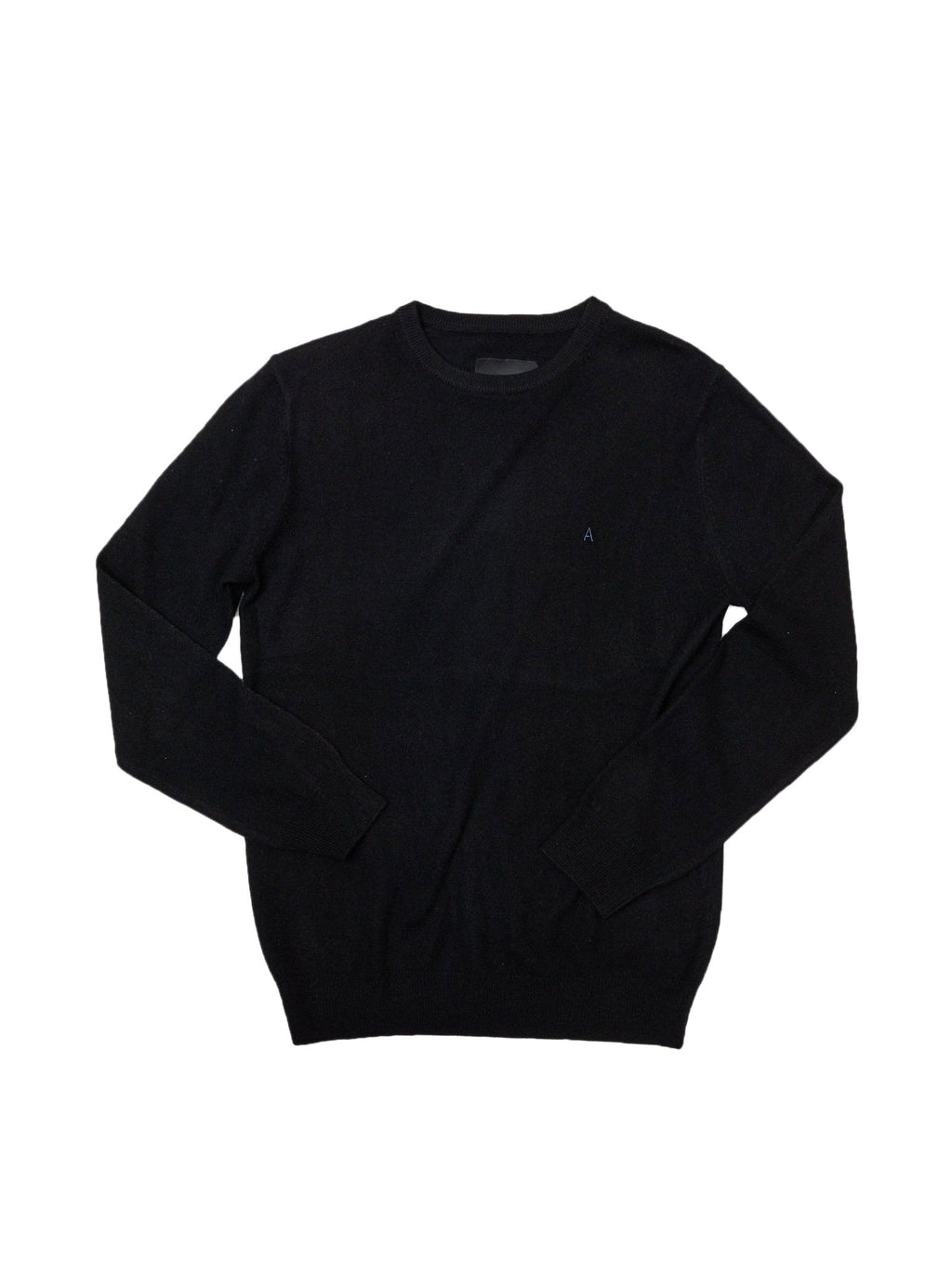 Black Monogram Cashmere Sweater
