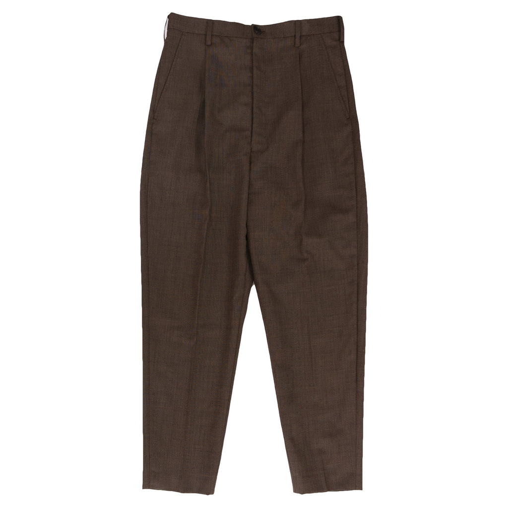 Brown Surprise Pattern Trousers