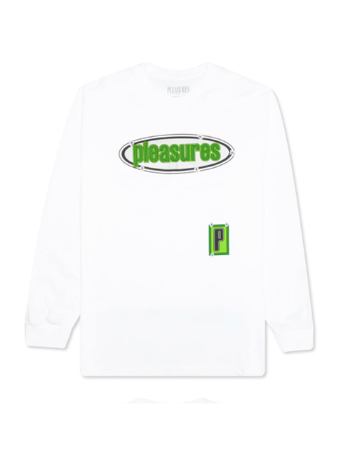 White Eazy Long Sleeve T-Shirt