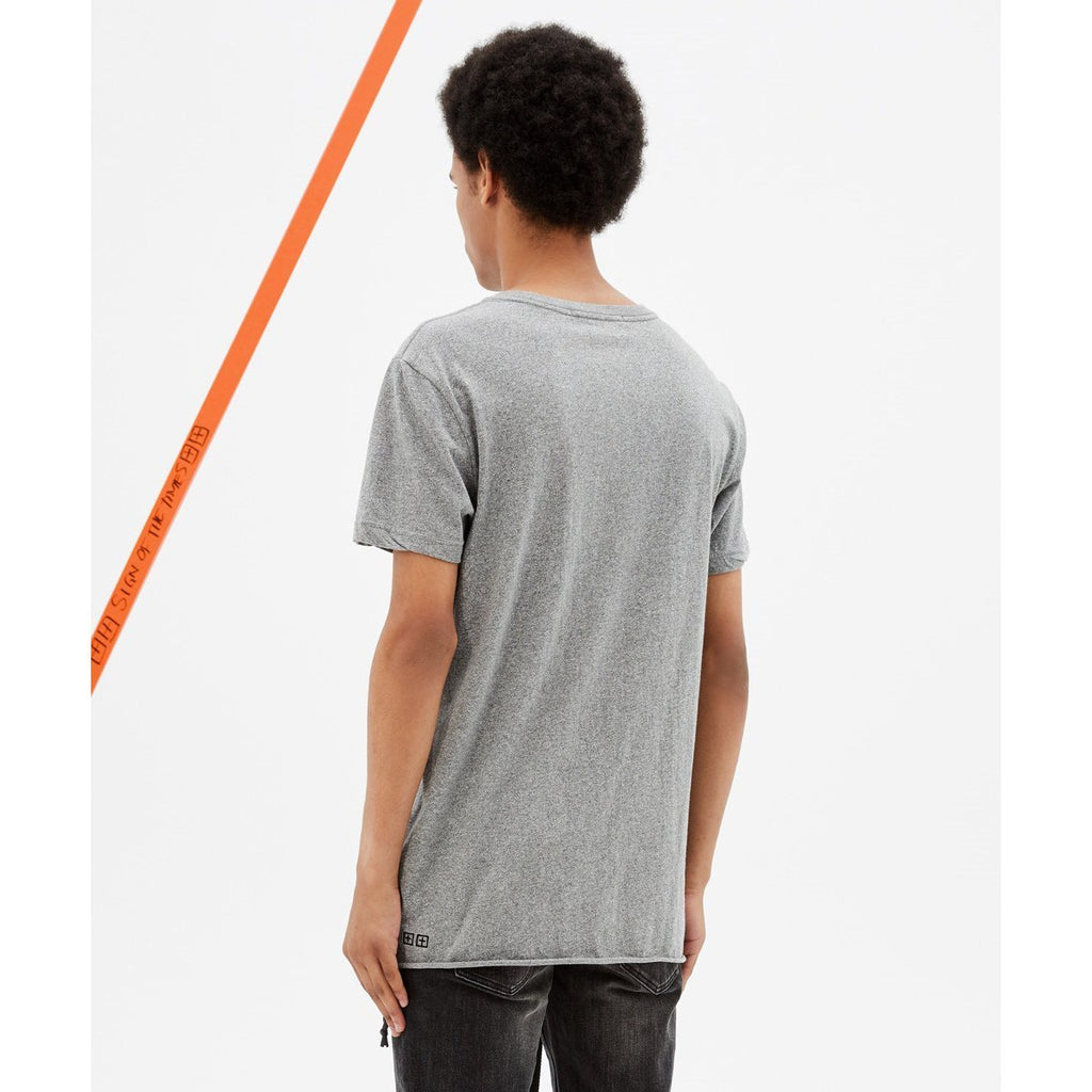 Grey Fancy Dollar Short Sleeve T-Shirt