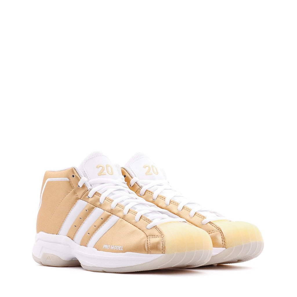 Gold Basketball Pro Model 2G Sneakers