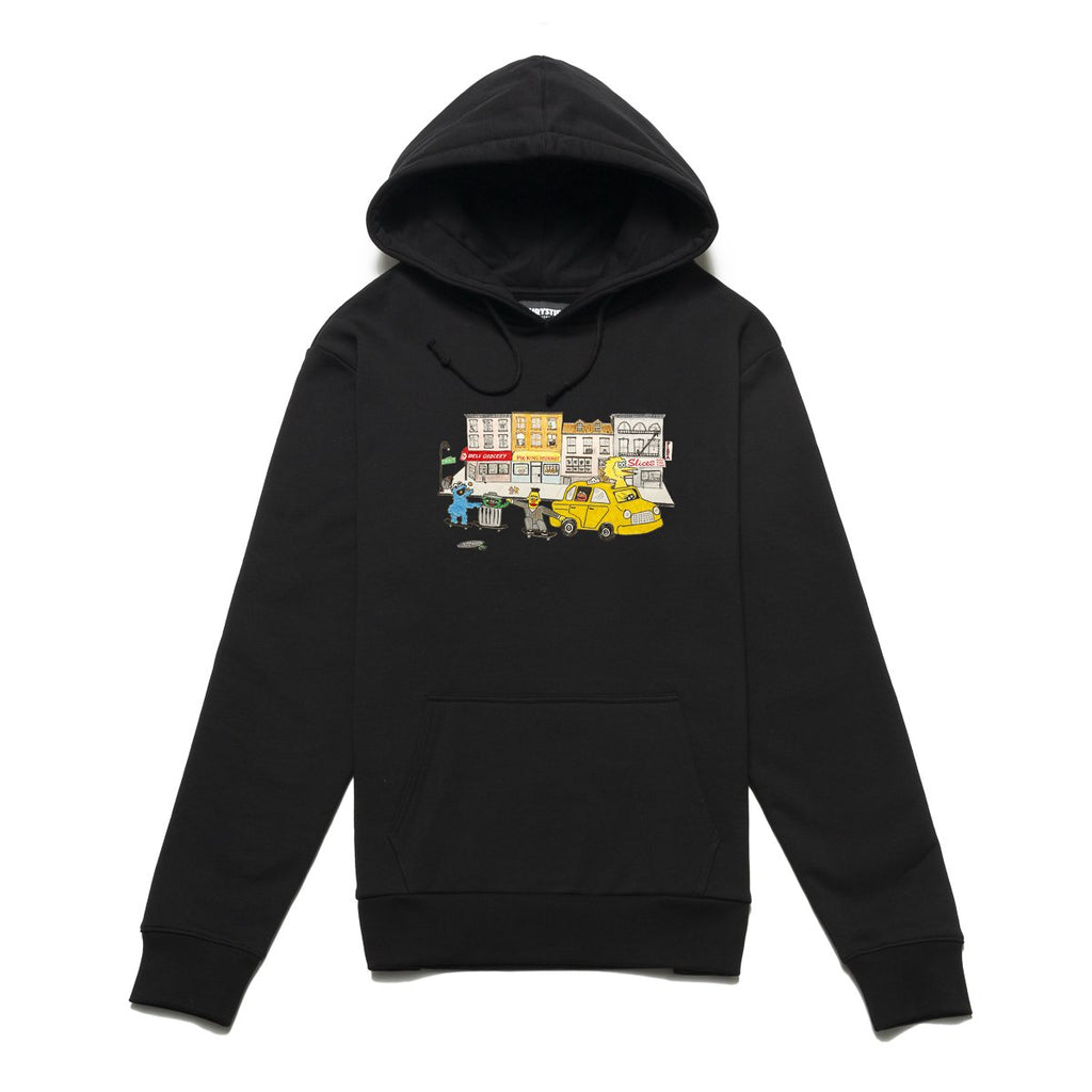 Black Chrystie Monster Pullover Sweater