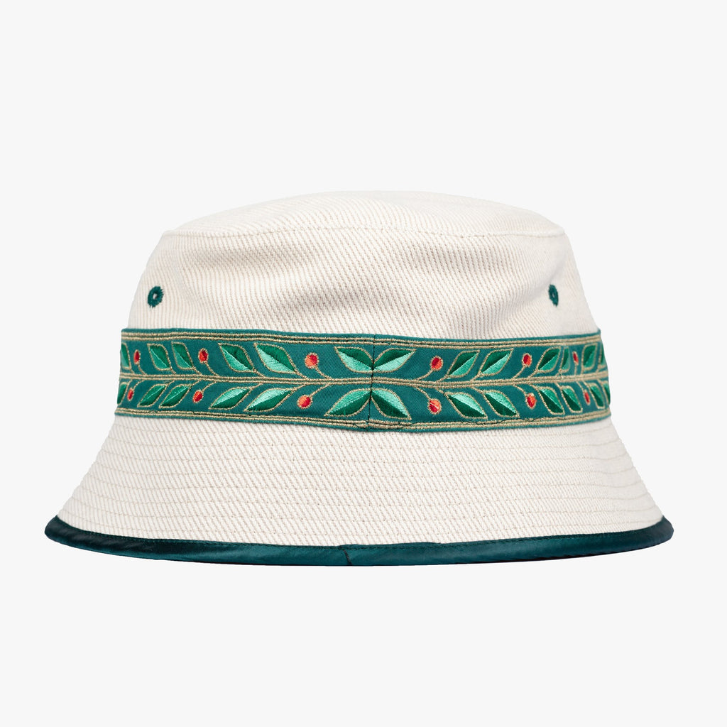Natural Laurel Bucket Hat