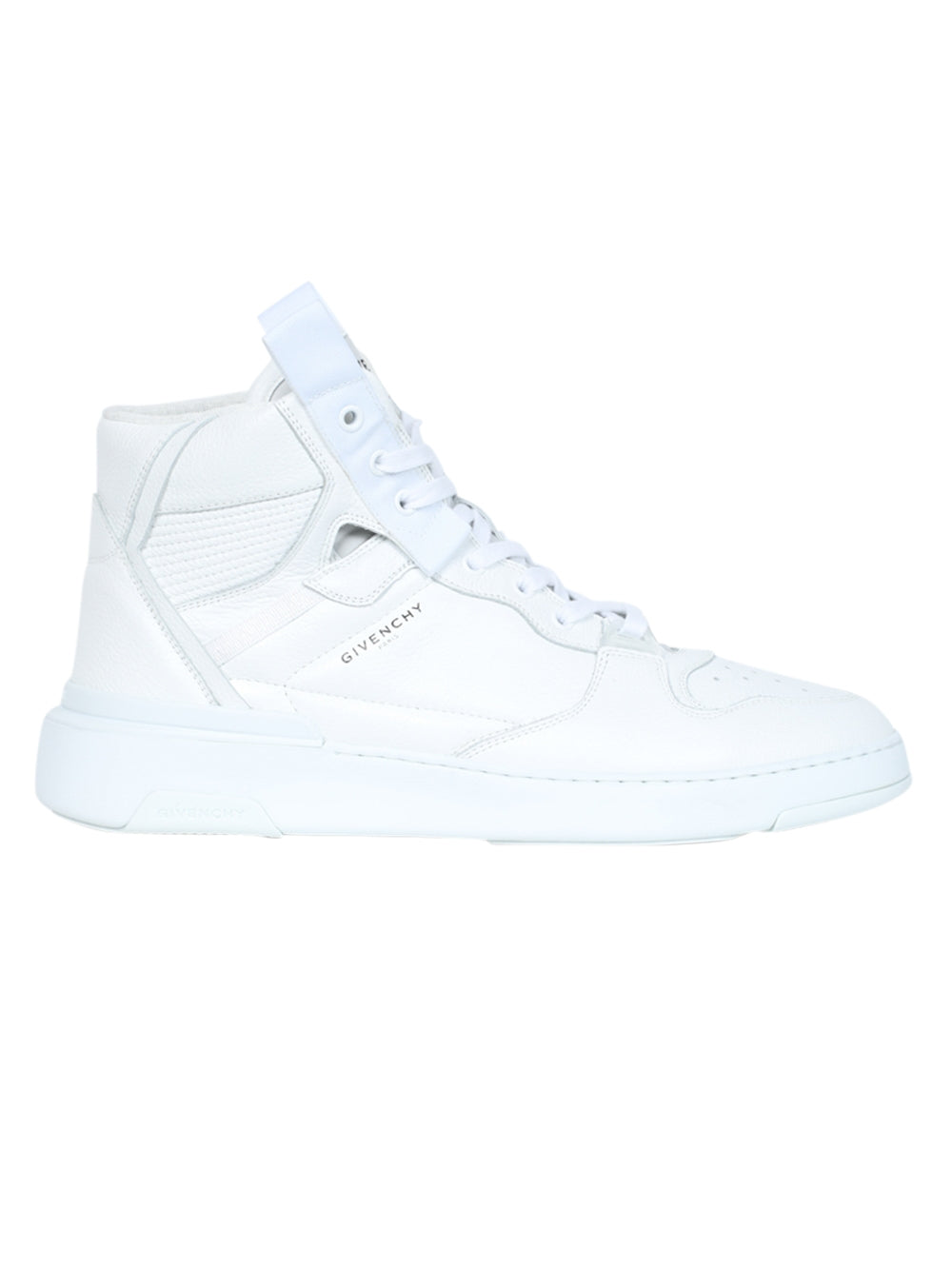 White Wing High Top Sneakers