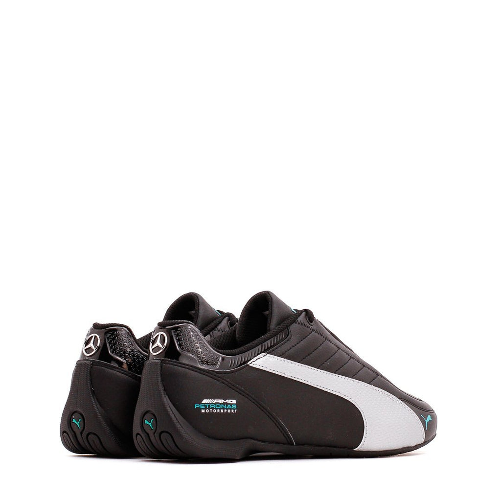 Black & Silver MAPM Future Kart Cat Sneakers