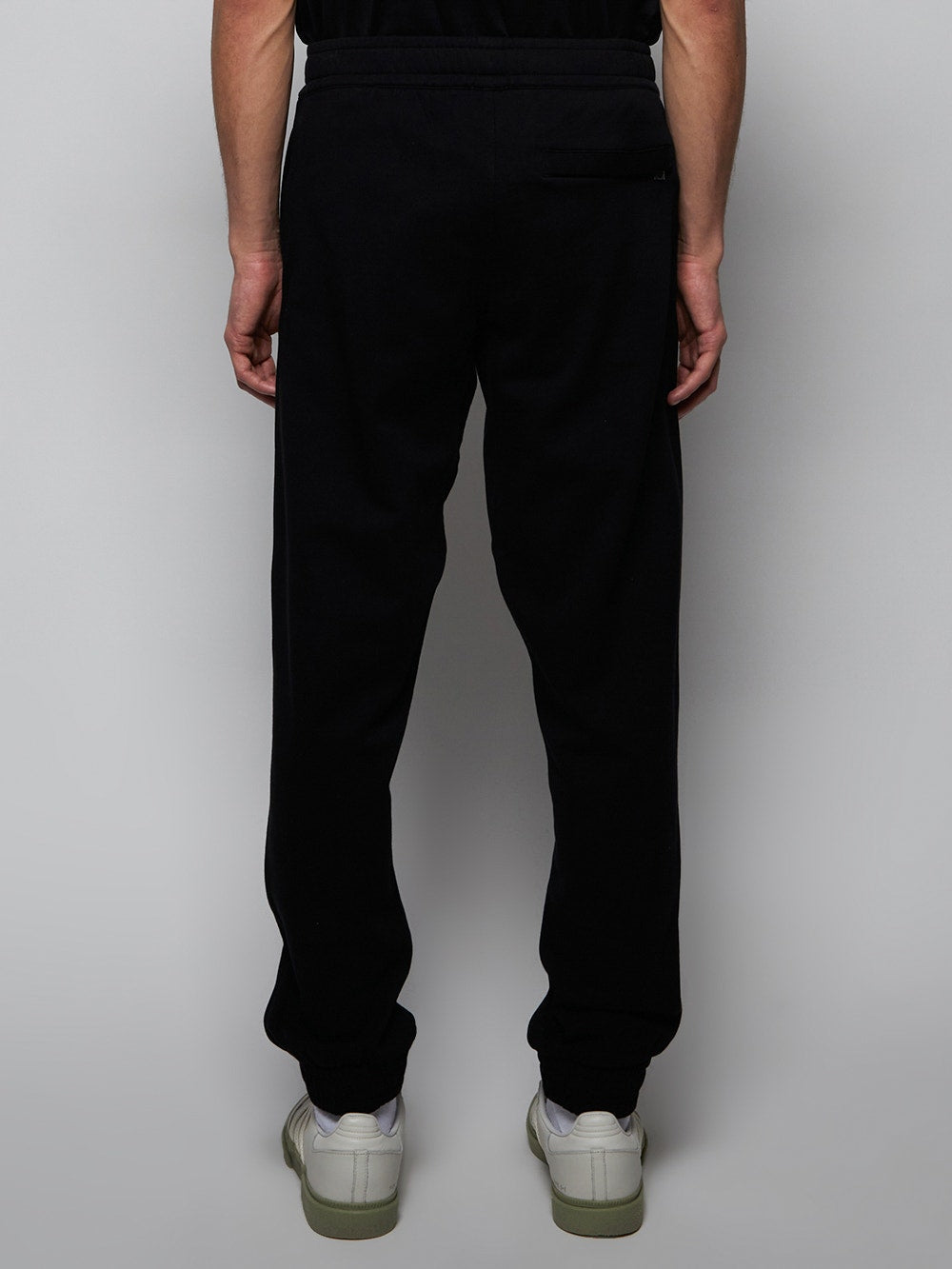 Black Shark Patch Sweatpants