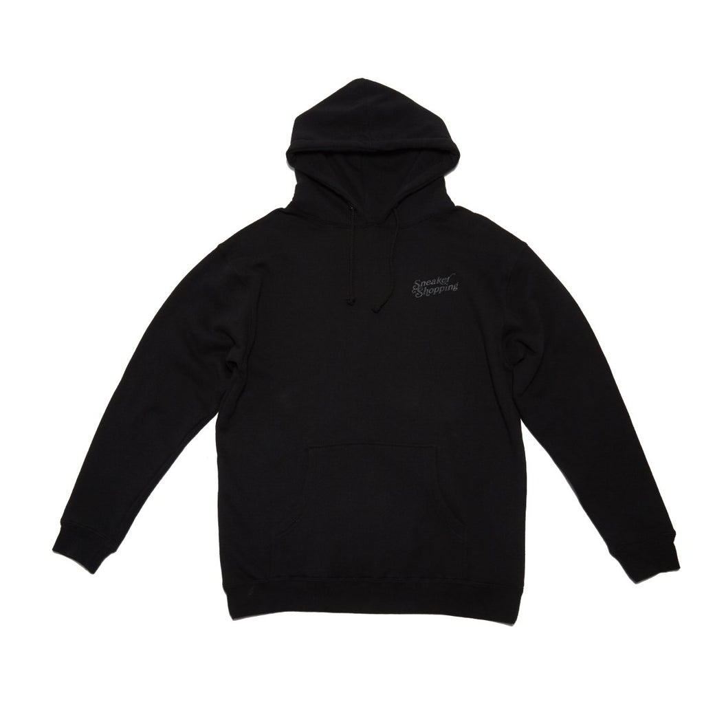 Sneaker Shopping - Thank You For Sneaker Shopping Hoodie - Black