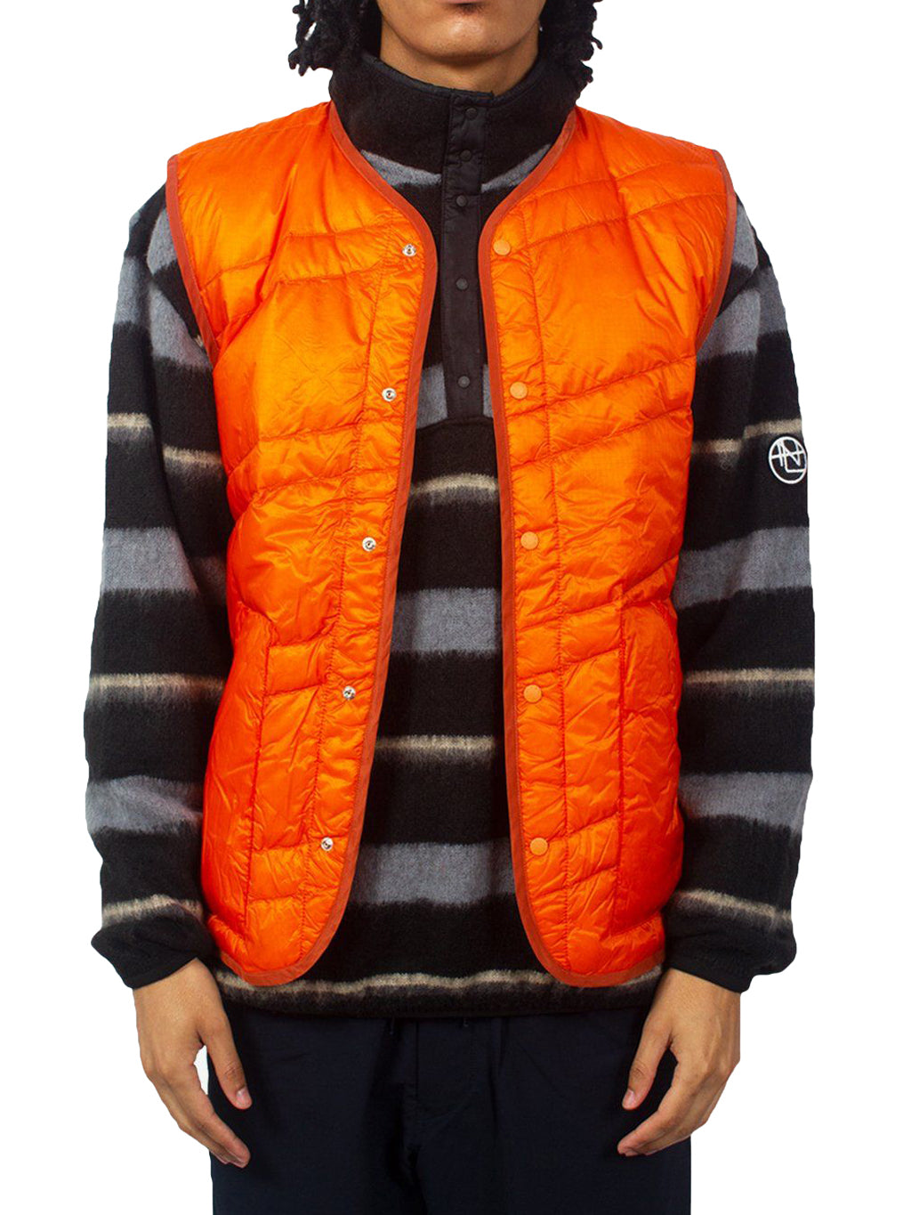 Orange Down Vests