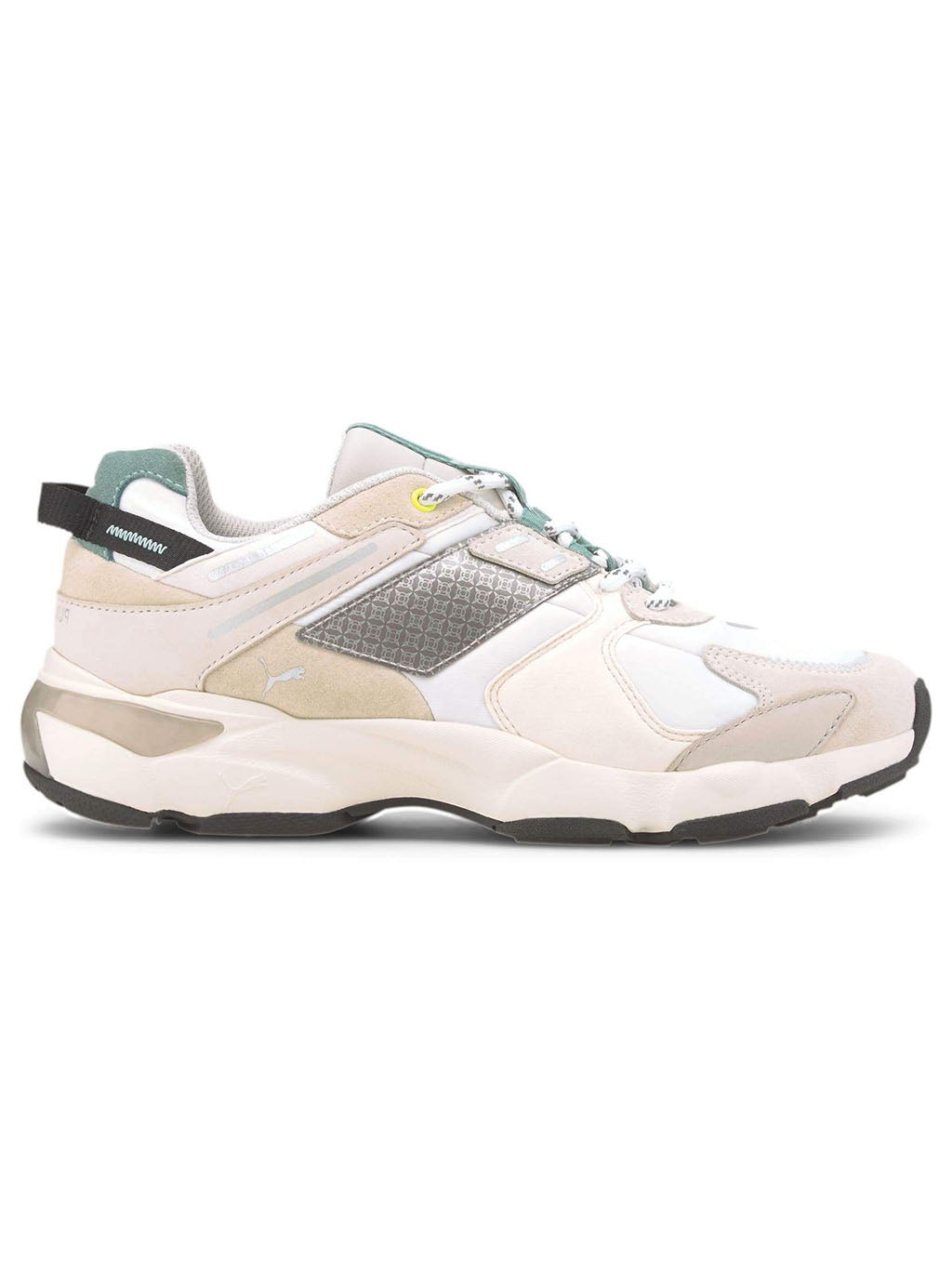White LQD CEll Extoll Sneakers
