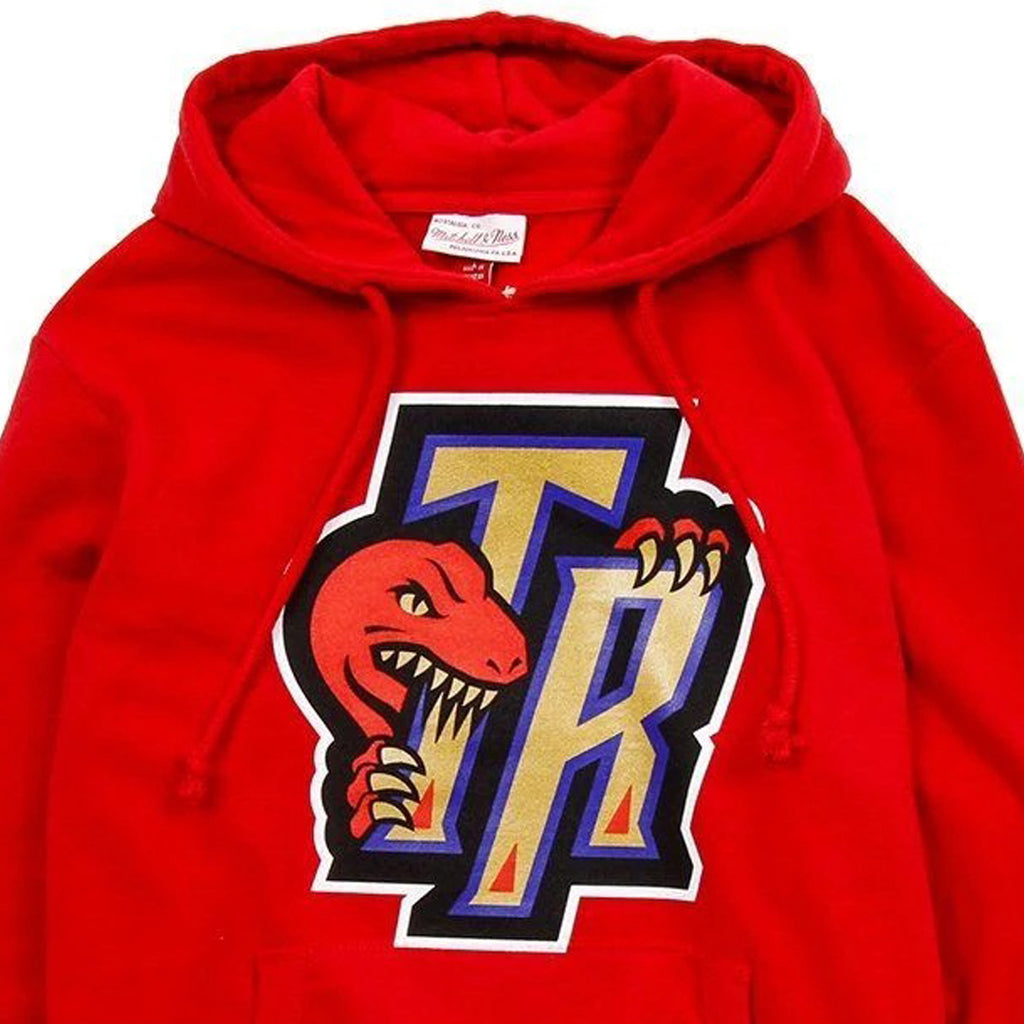 Red NBA Raptors TR Gold Bite Hoodie