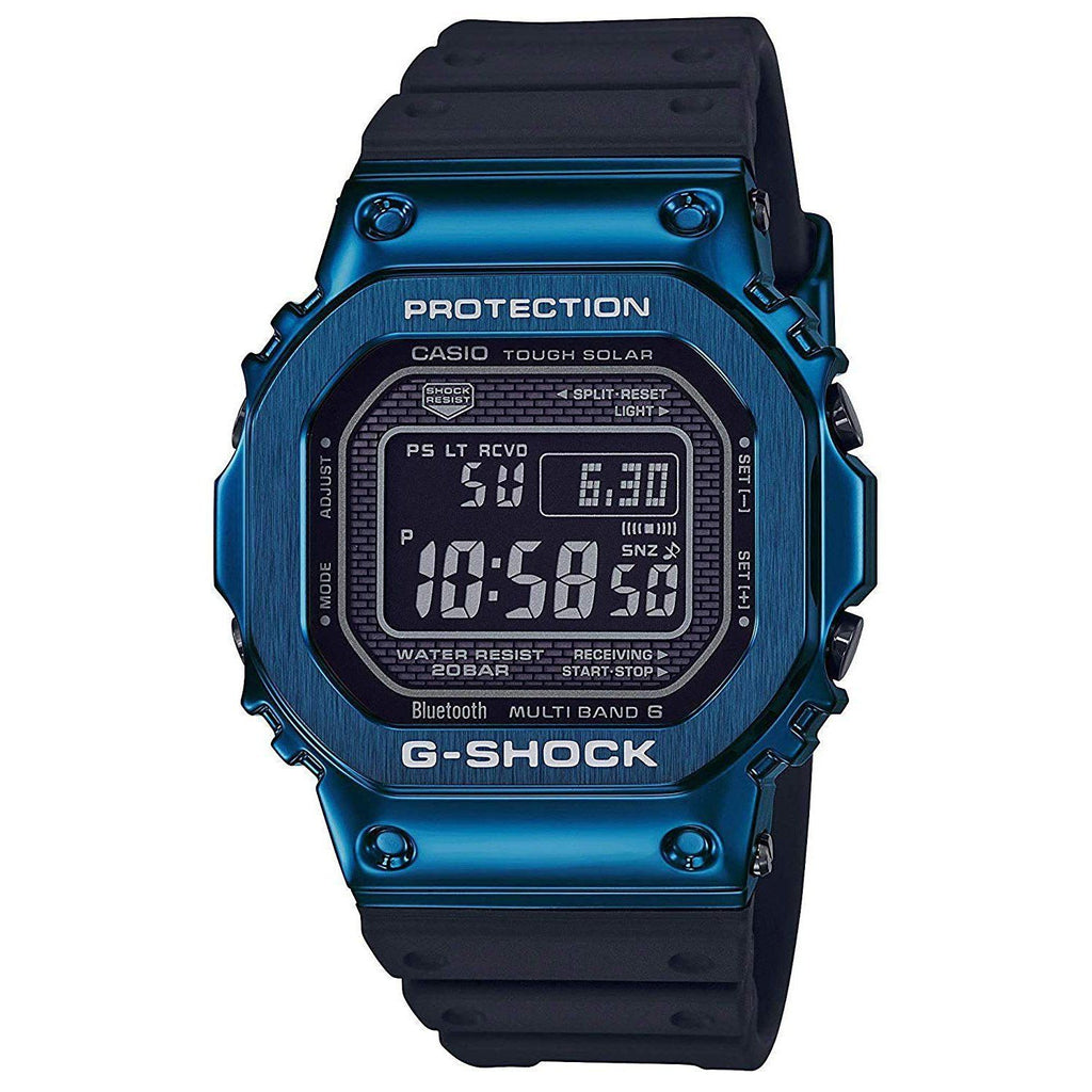 Black & Blue G-Shock Full Metal GMWB5000G-2 Watch