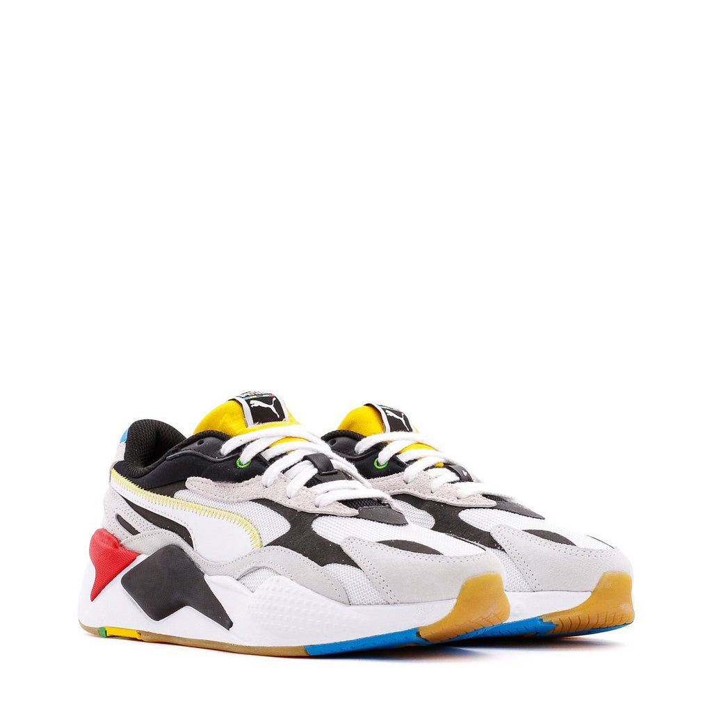 White & Black RS-X³ WH Sneakers