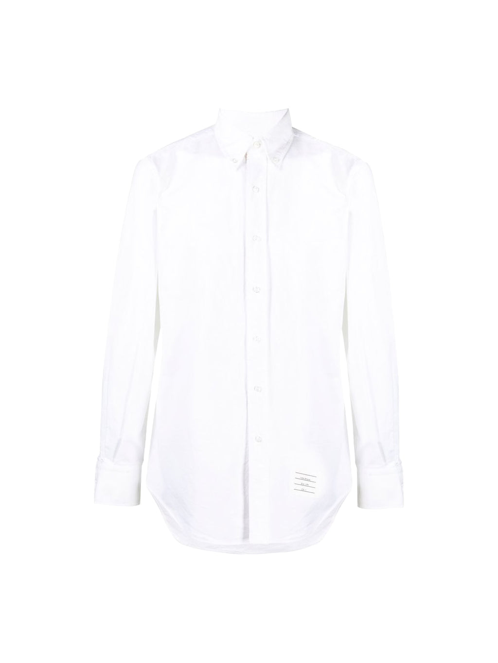White Classic Long-sleeve Button Down Shirt
