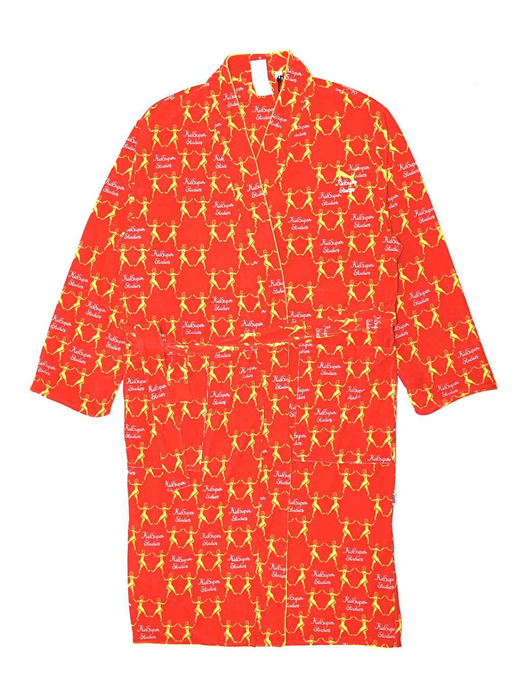 Orange Kid Super x Bathrobe