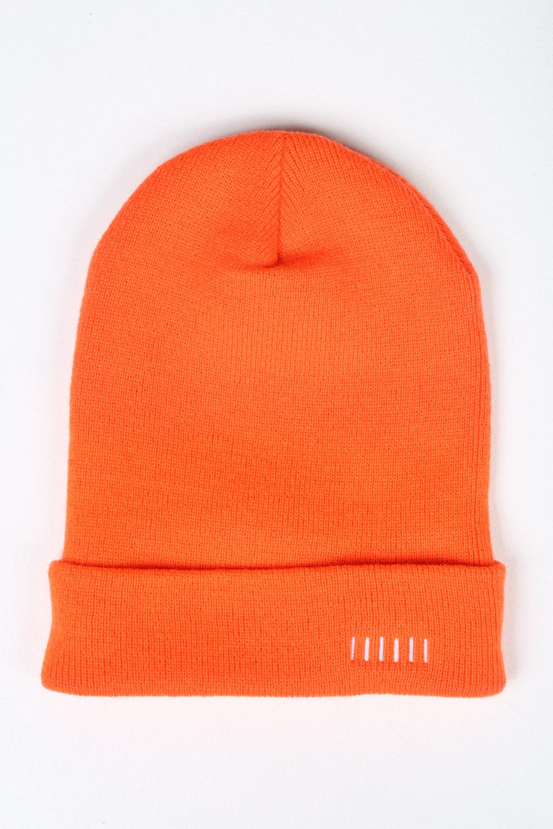 Orange Two Way Beanie