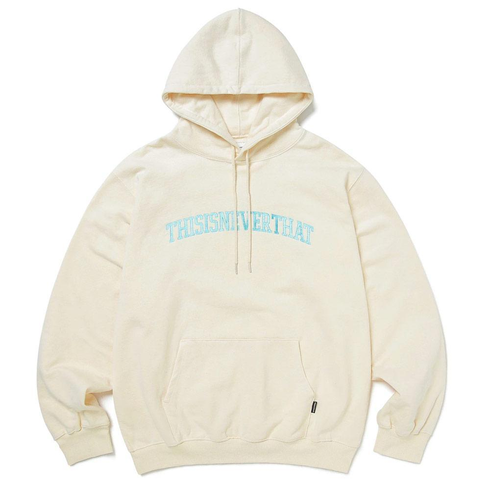 Ivory ARC-Logo Hooded Sweatshirt
