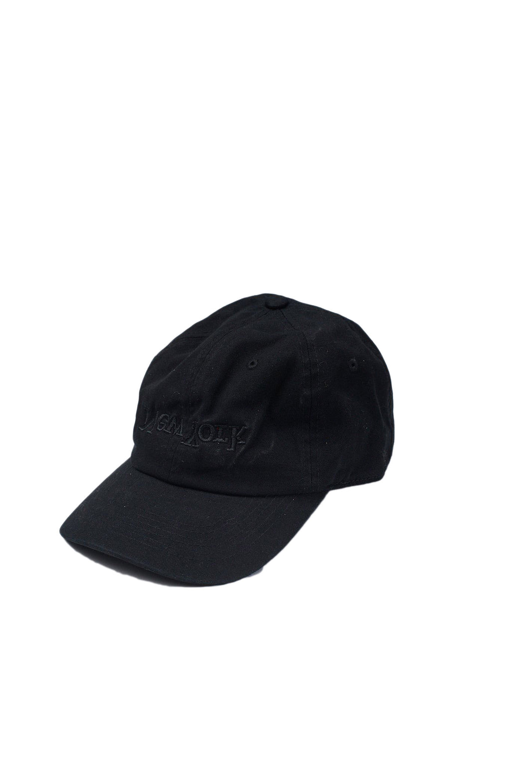 Black New York Embroidered Hat
