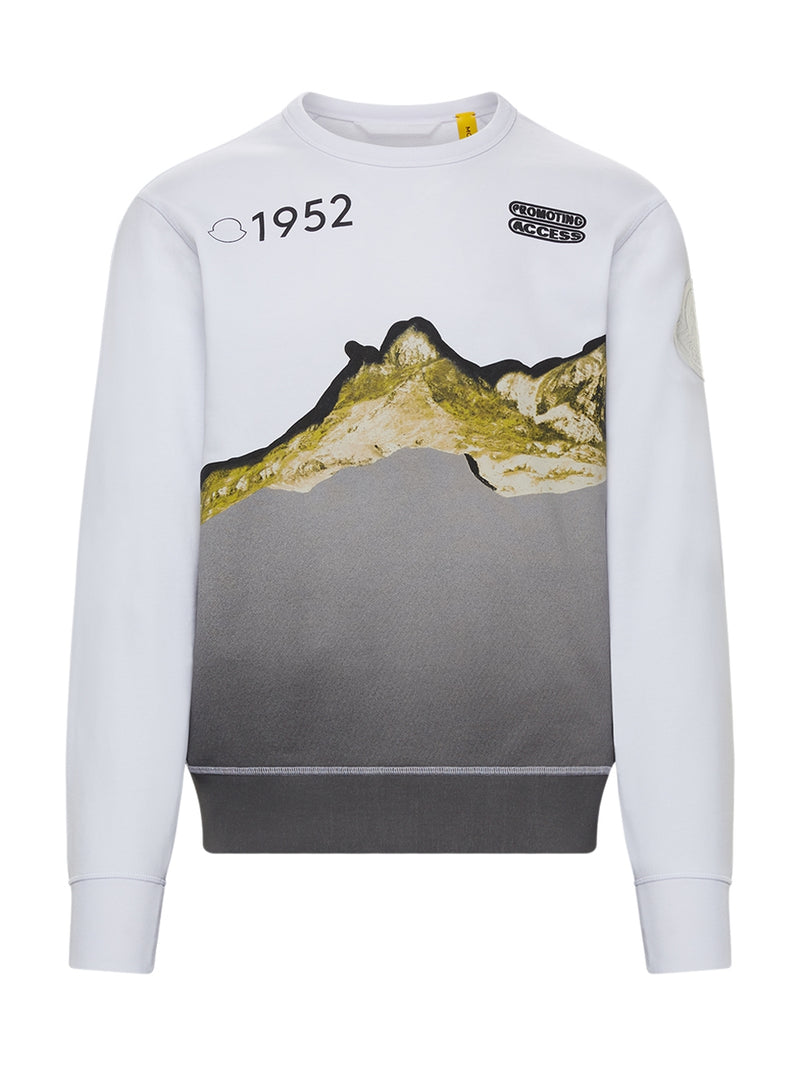 Multi 1952 White Sweatshirt With Graphic