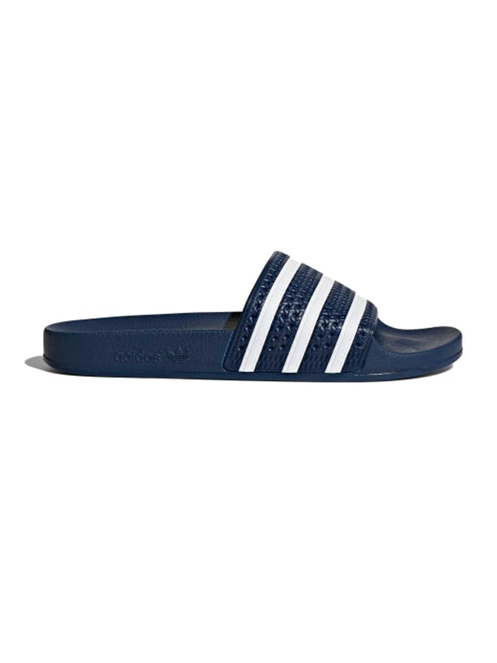 Navy & White Adilette Slides
