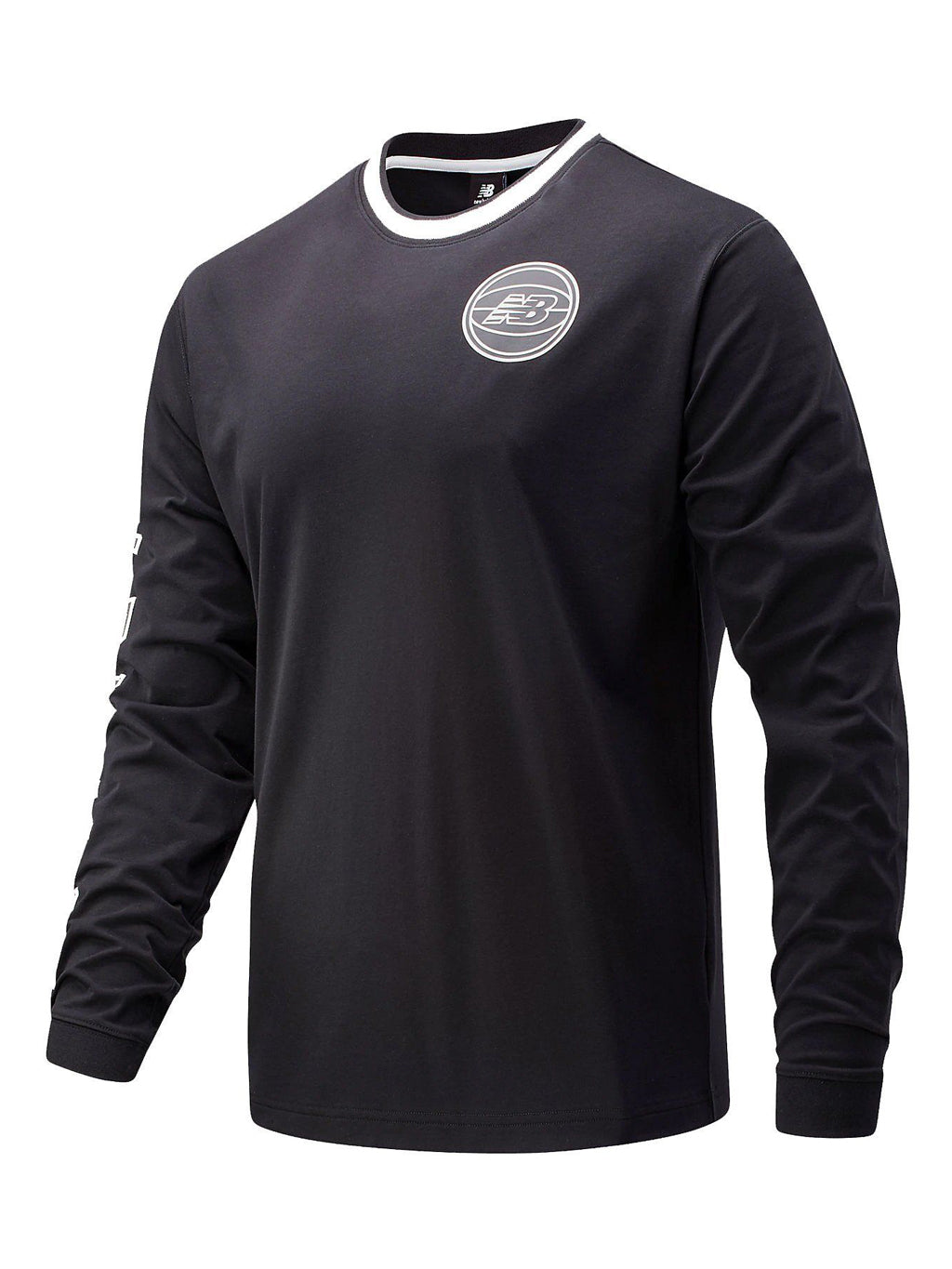 Black Basketball Men First Light Long Sleeve T-Shirt