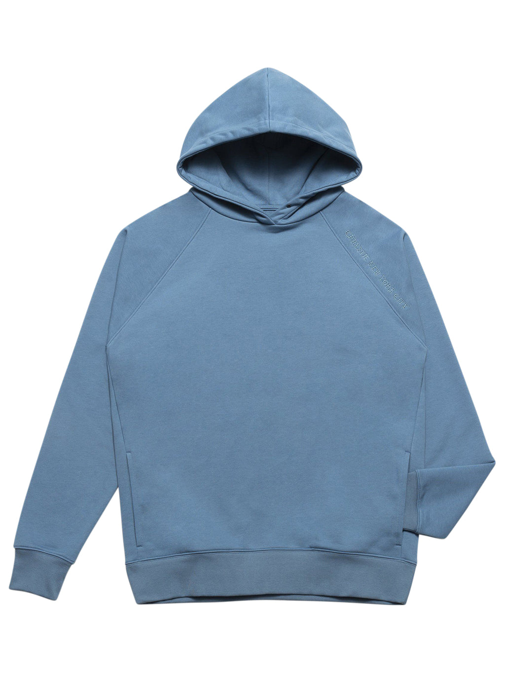 Bue Clean Cut Side Pockets Hoodie