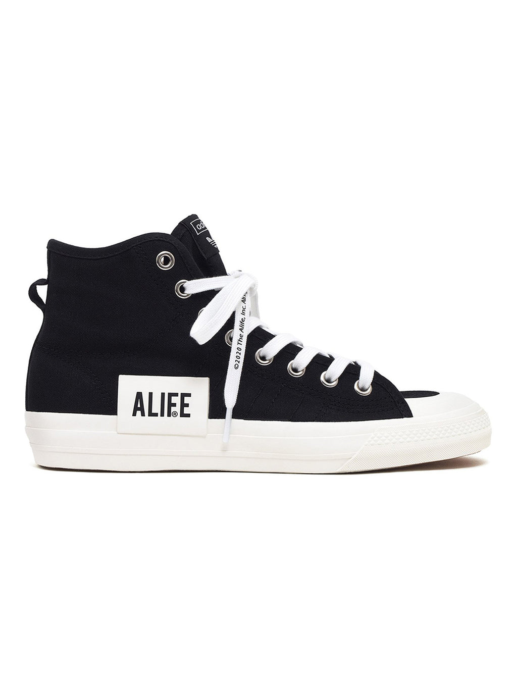 Black Alife Nizza Hi Top Sneakers