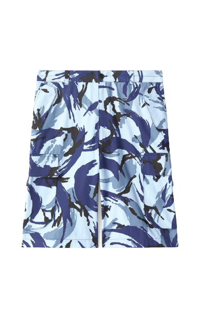 Blue Tropic Camouflage Shorts