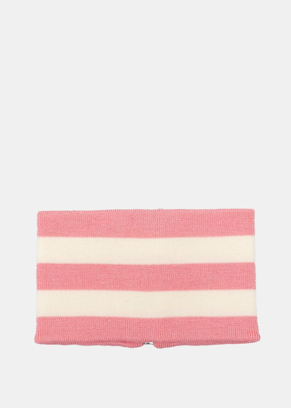 Pink & Beige Striped Neck Band