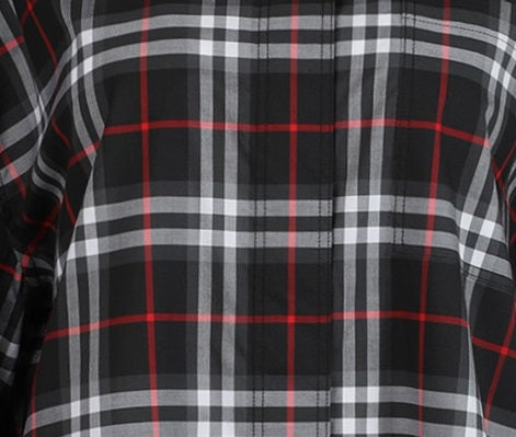 Black Checkered Clarissa Shirt