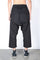 Black Cargo Drawstring Cropped Pants thumbnail 3
