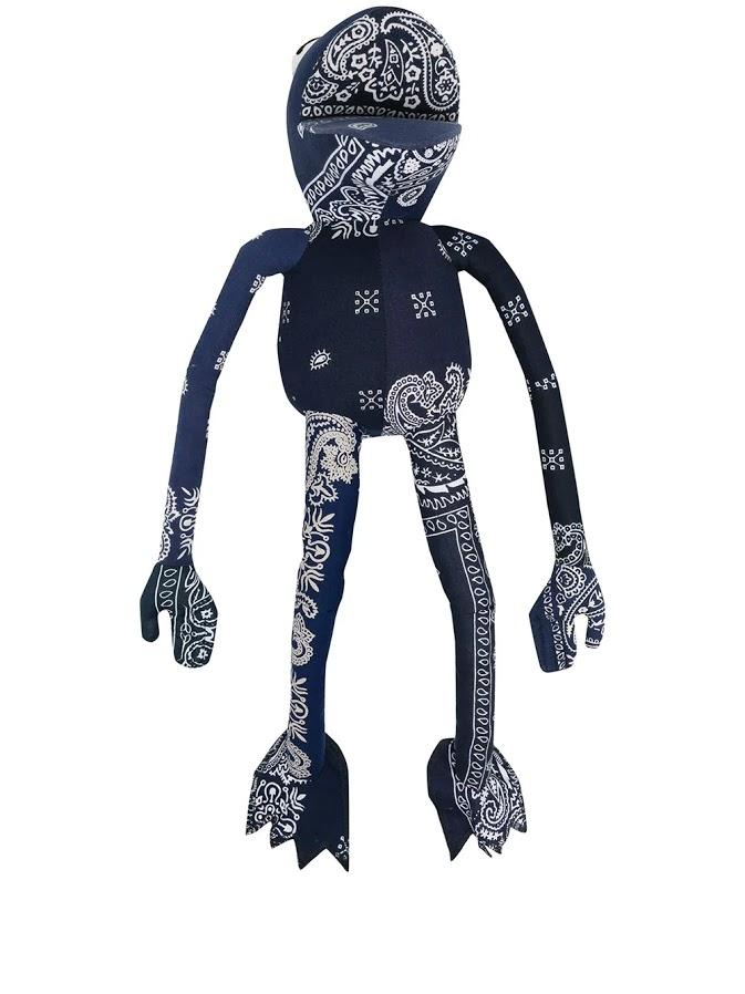 Blue Bandana Frogman Toy